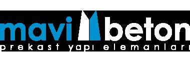 Mavi Beton Beyaz Logo